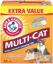 Arm & Hammer Multi Cat Strength Clumping Litter 40lb