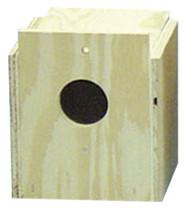 Bird Brainers Finch Nesting Box External Mounting