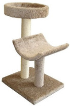 NAM CAT TREE DOUBLE W/2 BED 36