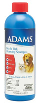 Adams Flea & Tick Cleansing Shampoo 12oz