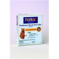 Zodiac BreakAway Flea & Tick 5 Month Collar for Cats