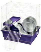 Kaytee My First Home Habitat for Hamster, 2-Story, 14 by 10-Inch
