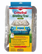 Kaytee CritterTrail Habitat Disposable Bedding Tray, 3 Count