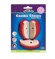 Super Pet Apple Slice Combo Chews 3pk