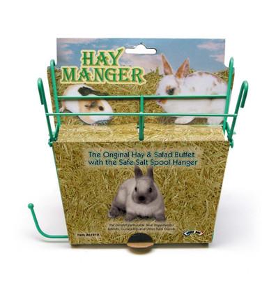 Super Pet Hay Manger W  Salt Hanger