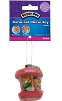PTS CHEW TOY CAROUSEL APPLE SM