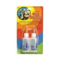 Four Paws Pet Nurser Kit Two 2oz bottles On blister card