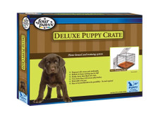 Four Paws Puppy Crate Front & Top Door 24 x 18 x 21