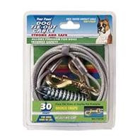 Four Paws Heavy Weight Tie Out Cable Silver 30ft