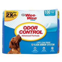 Four Paws Wee Wee Odor Control Pad 22X23 100ct