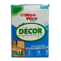 Four Paws Wee Wee Pads Decor Grass 22X23 10ct