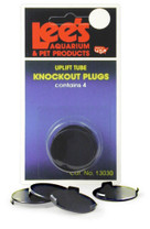 Lee's UGF Uplift Knockout Plugs 4pk