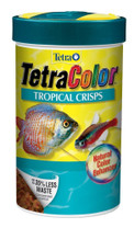 Tetra TetraColor Tropical Crisps with Feeding Lid .56oz