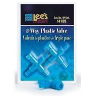 Lee's Three-Way Plastic Valve 2pk