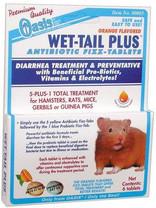 Oasis Wet-Tail Plus diarrhea treatment 6pk