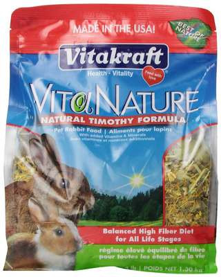 Vitakraft Vita Nature Rabbit Food
