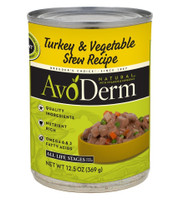 Breeder's Choice AvoDerm Natural Turkey & Vegetable Stew 12.5oz