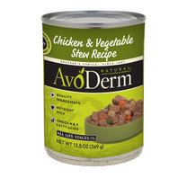 Breeder's Choice AvoDerm Natural Chicken & Vegetable Stew 12.5oz