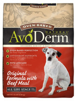Breeder's Choice AvoDerm Oven-Baked Original Beef Meal All Life Stage 15lb