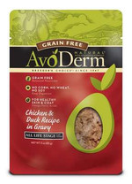 Avoderm Natural Grain Free Wet Cat Food Chicken & Duck Pouch 12/3oz