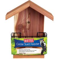 Kaytee Cedar Suet Wild Bird Feeder