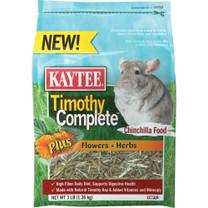 Kaytee Timothy Complete Plus Flower Herb Chinchila 3lb