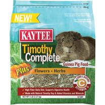 Kaytee Timothy Complete Plus Flower Herb Guinea Pig 5lb