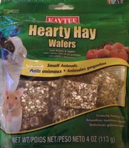 Kaytee Hearty Hay Wafers with Raisins & Apples, 4 Oz