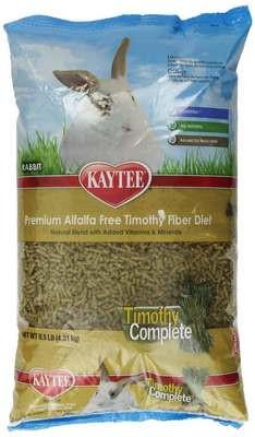 Kaytee Alfalfa Free Timothy Complete Rabbit Food