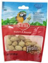 Kaytee Fiesta Krunch-A-Rounds Avian Peanut Pet Treat, 3-Ounce