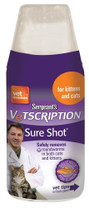 Sergeants Vetscription Sure Shot Liquid Wormer Cat 100ml