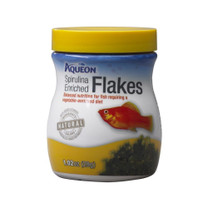 Aqueon Spirulina Enriched Flakes 1.02oz