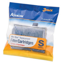 Aqueon Mini Bow Replacement Filter Cartridges Small 3pk