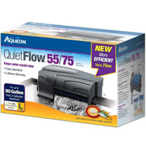 Aqueon QuietFlow 55 75 Aquarium Power Filter up to 90gal