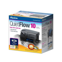 Aqueon QuietFlow 10 Aquarium Power Filter 10-20gal