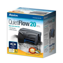 Aqueon QuietFlow 20 Aquarium Power Filter 20-30gal