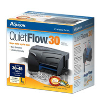 Aqueon QuietFlow 30 Aquarium Power Filter 30-45gal