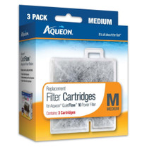 Aqueon Replacement Filter Cartridge Medium 3pk