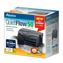 Aqueon QuietFlow 50 Aquarium Power Filter 50gal