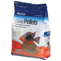 Aqueon Cichlid Medium Pellets Fish Treat, 25-Ounce