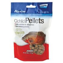 Aqueon Cichlid Pellets Resealable Pouch Jumbo 5oz