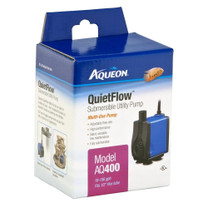 Aqueon QuietFlow Submersible Utility Pump 400 106gph