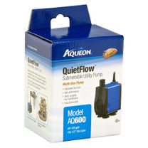 Aqueon QuietFlow Submersible Utility Pump 600 159gph