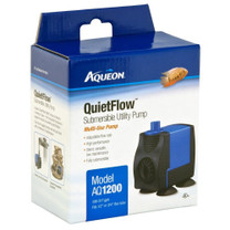 Aqueon QuietFlow Submersible Utility Pump 1200 317gph