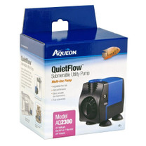 Aqueon QuietFlow Submersible Utility Pump 2300 608gph