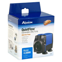 Aqueon QuietFlow Submersible Utility Pump 3000 793gph