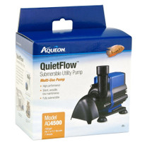Aqueon QuietFlow Submersible Utility Pump 4500 1189gph