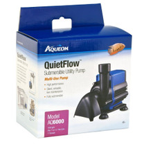 Aqueon QuietFlow Submersible Utility Pump 6000 1585gph