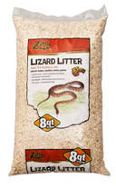 Zilla Bedding Lizard Litter 8qt