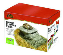 Zilla Basking Platform with Filter for 40 Gallon Terrariums and Larger
